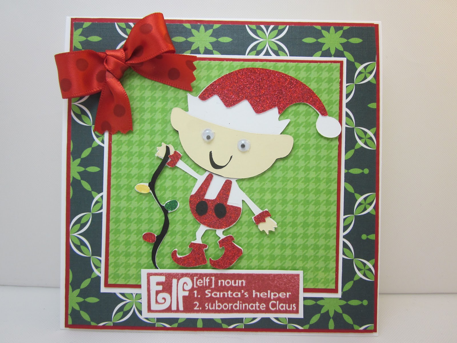 Cute Christmas Puns.Obsessed With Scrapbooking Christmas Elf And Stamp Giveaway
