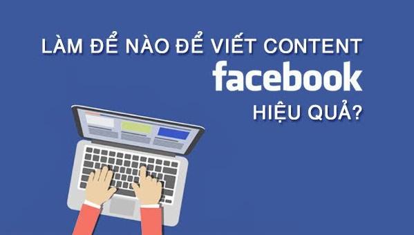 thuê dịch vụ viết nội dung facebook