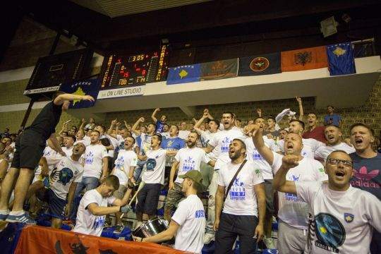 Kosovo fined by FIBA for booing of the Macedonian anthem