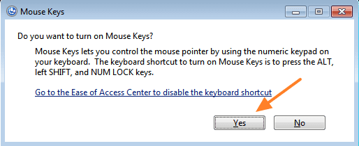 aktifkan-mouse-keys