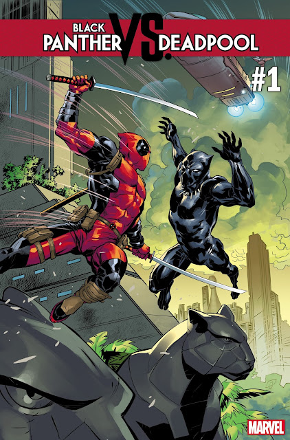 Black Panther Faces Off Against…Deadpool