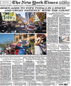 The New York Times Magazine 6 November 2020 | The New York News | Free PDF Download
