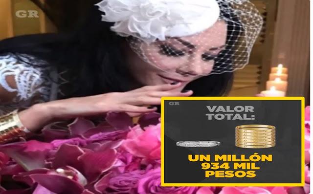 Hija de Romero Deschamps presume en su boda un Humilde brazalete de 2 mdp