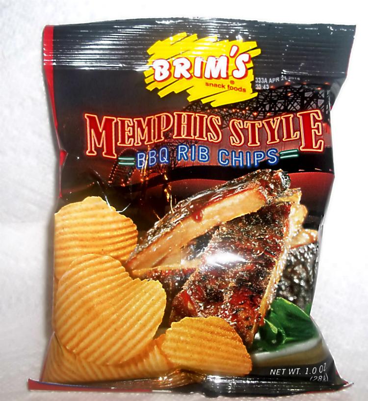 Brim's BBQ Rib Chips