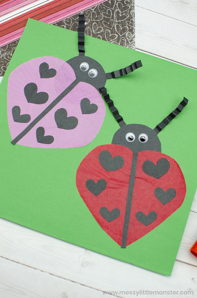 Spring Ladybird craft for kids