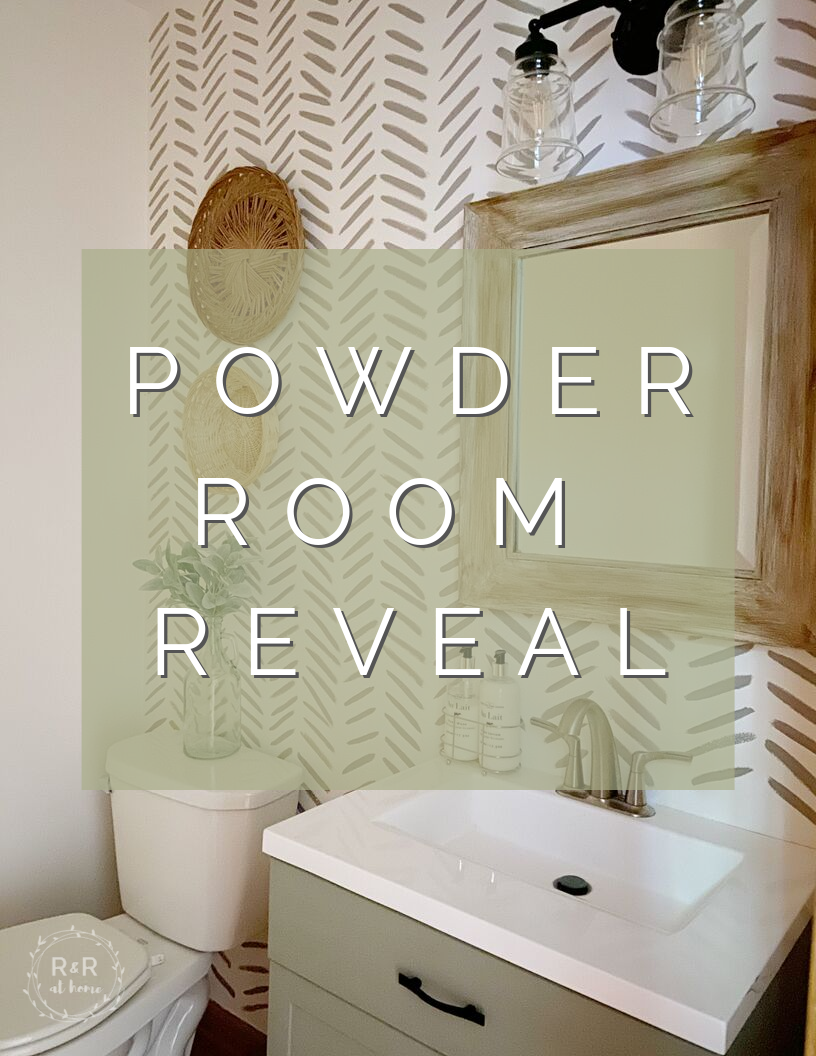 100 Room Challenge Powder Room Reveal R R At Home