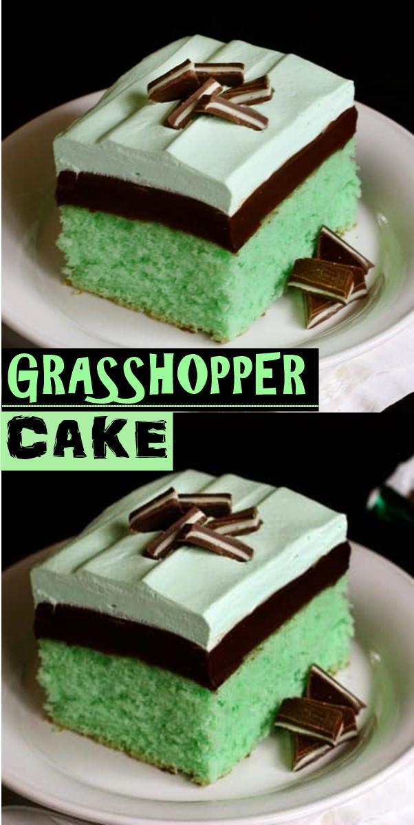 GRASSHOPPER CAKE #Cakerecipes