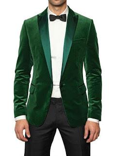 Yeşil blazer ceket kombin