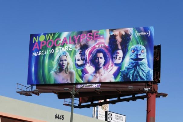 Now Apocalypse billboard