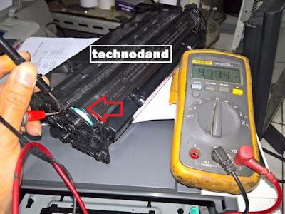 Penyebab hasil print kosong pada printer laserjet hp M402 dan cara perbaikannya