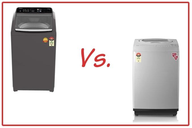 Whirlpool Royal Plus (left) and IFB TL RSS Aqua (right) Washing Machine Comparison.