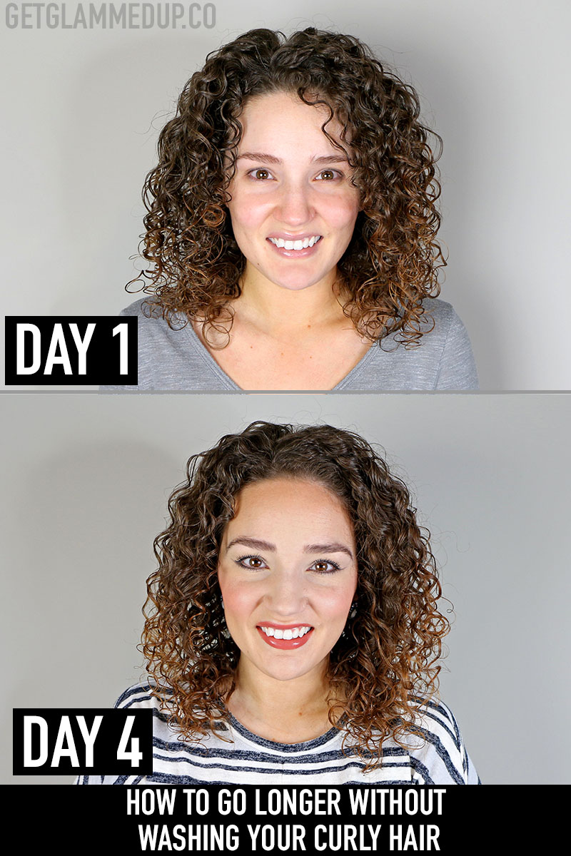 How to go longer without washing your curly hair