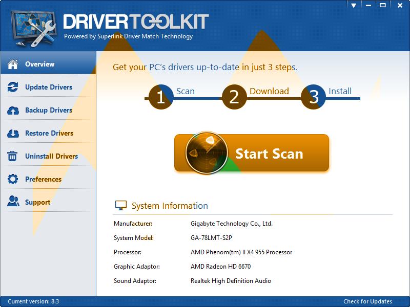 Driver Toolkit 8.3 Full Crack