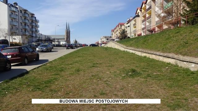 Miejsca postojowe ul. Przemyska -  Budżet Obywatelski projekt nr 8 - Zmieniamy dzielnicę, sprawdź swoją ulicę - Czytaj więcej »