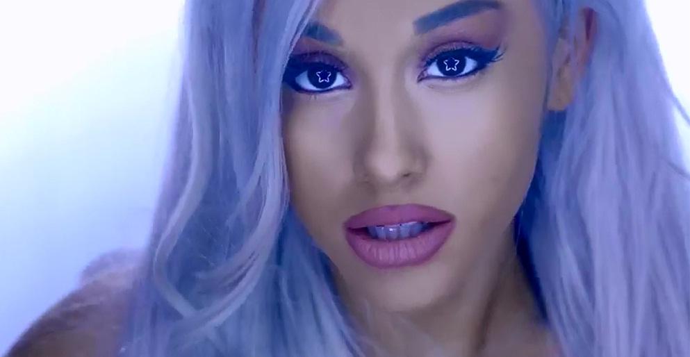 1Focus%2B %2BAriana%2BGrande Ariana Grande Platinum Blonde Hair