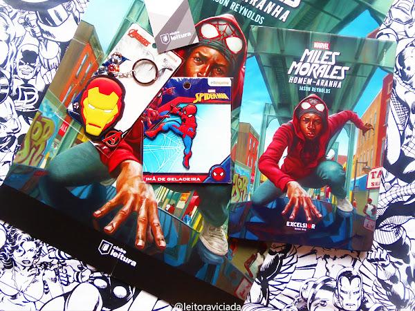 Clube Leitura Marvel #08, assinatura exclusiva dos livros Marvel!