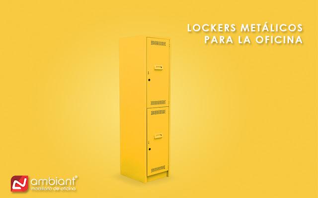 Lockers metálicos para la oficina