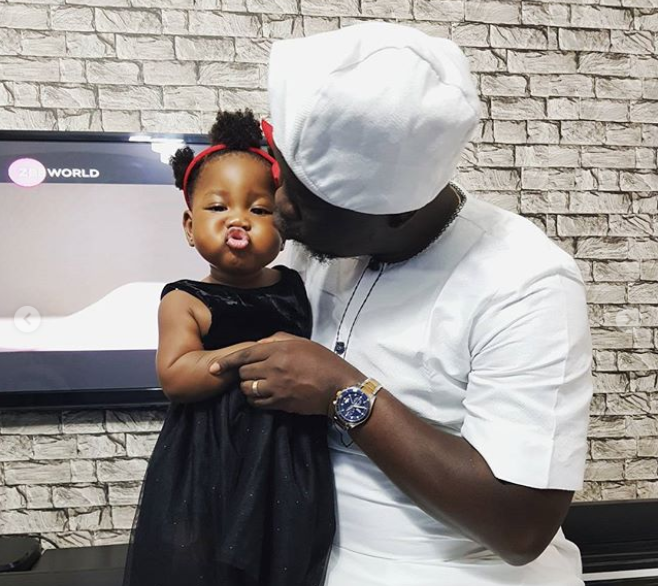 t2 New Adorable Photos Of Seyi Law & His Daughter Entertainment