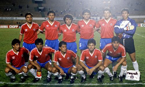 Formación de Chile ante Uruguay, Copa América 1989, 6 de julio