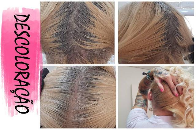 cabelo com a raiz preta