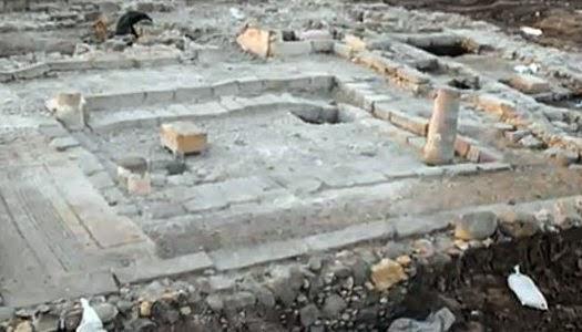 Restos arqueológicos de sinagoga donde Jesús predicó
