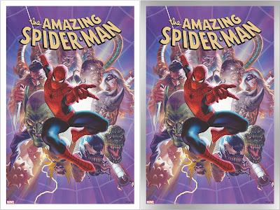 The Amazing Spider-Man #33 Variant Cover Art Print by Alex Ross x Grey Matter Art x Marvel Comics