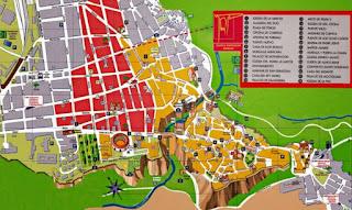 Mapa Turístico de Ronda.