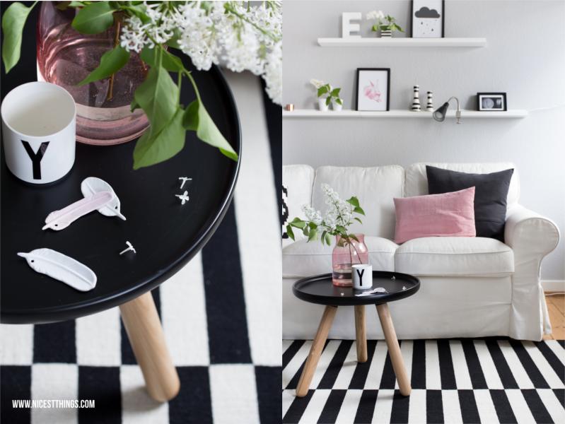 Wohnzimmerdeko Rosa Frühlingsdeko Wohnzimmer Tablo Beistelltisch von Normann Copenhagen