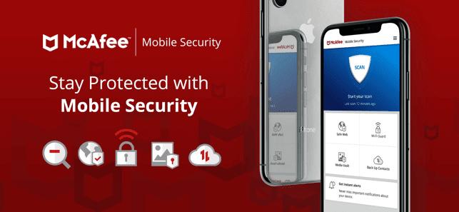 تنزيل برنامج فيروسات للايفون McAfee Mobile Security