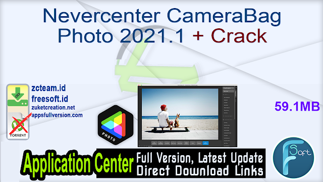 Nevercenter CameraBag Photo 2021.1 + Crack