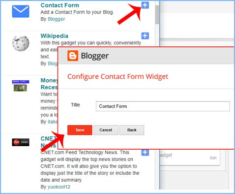 Blogger Me Contact Form Page Kaise Banaye ki jankari