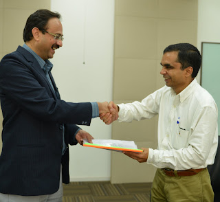 CMRIT - Sherpify MOU Signed for Campus Incubator