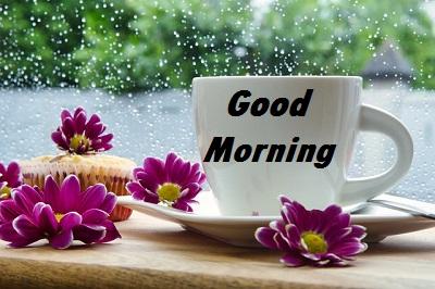 rainy good morning images