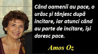 Citatul zilei: 4 mai - Amos Oz