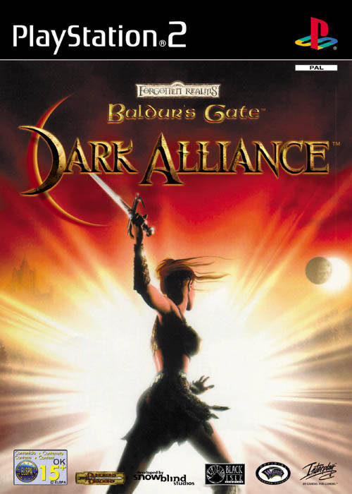 Baldur's Gate Dark Alliance PAL PS2
