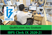 IBPS Recruitment for CRP Clerks - IX (12075 Posts) 2019 (Maru Gujarat , Ojas) - Today Rojgar Job News meniya dil_meniya