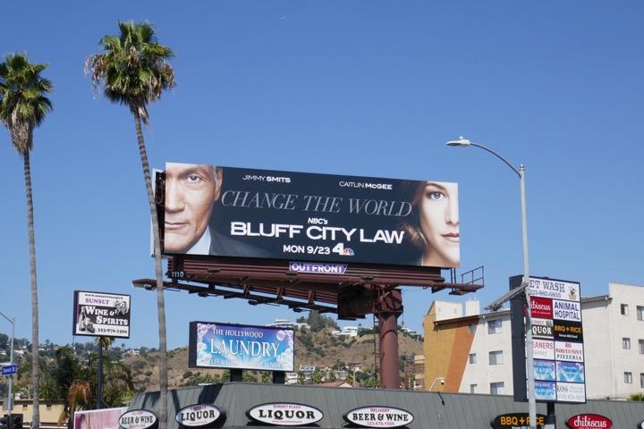 Bluff City Law season 1 billboard