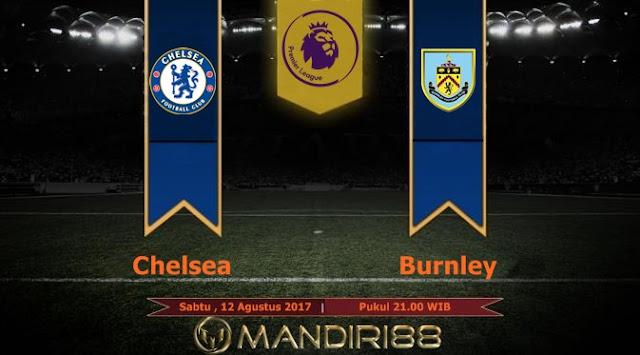 Chelsea akan menghadapi Burnley pada laga pekan pertama Premier League  Terkini Prediksi Bola : Chelsea Vs Burnley , Sabtu 12 Agustus 2017 Pukul 21.00 WIB