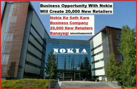 Business Opportunity With Nokia New Retailers