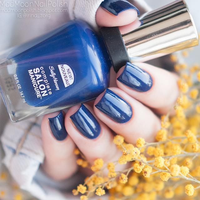 Sally Hansen Complette Salon Manicure 515 A Bleu Attitude