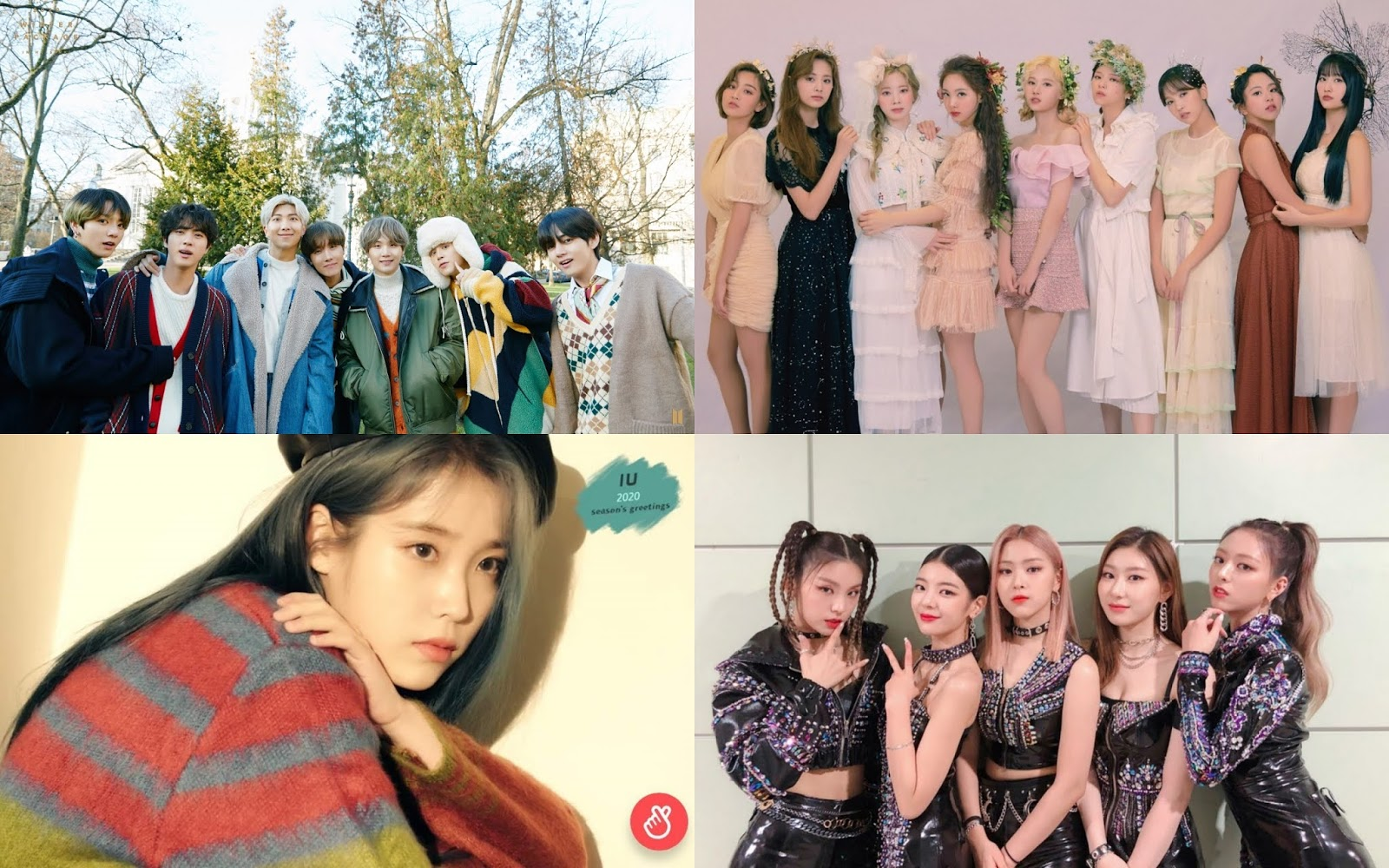 Group, Soloist, Rookie, Until the Best K-Pop Producer According to Experts in 2020