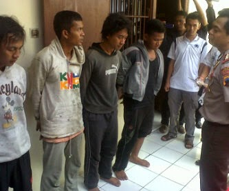 Buron 3 Bulan, 4 Pemuda Pelaku Pembunuhan Berhasil Ditangkap