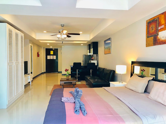 Patong Harbor View Unit C 102 Bed Room