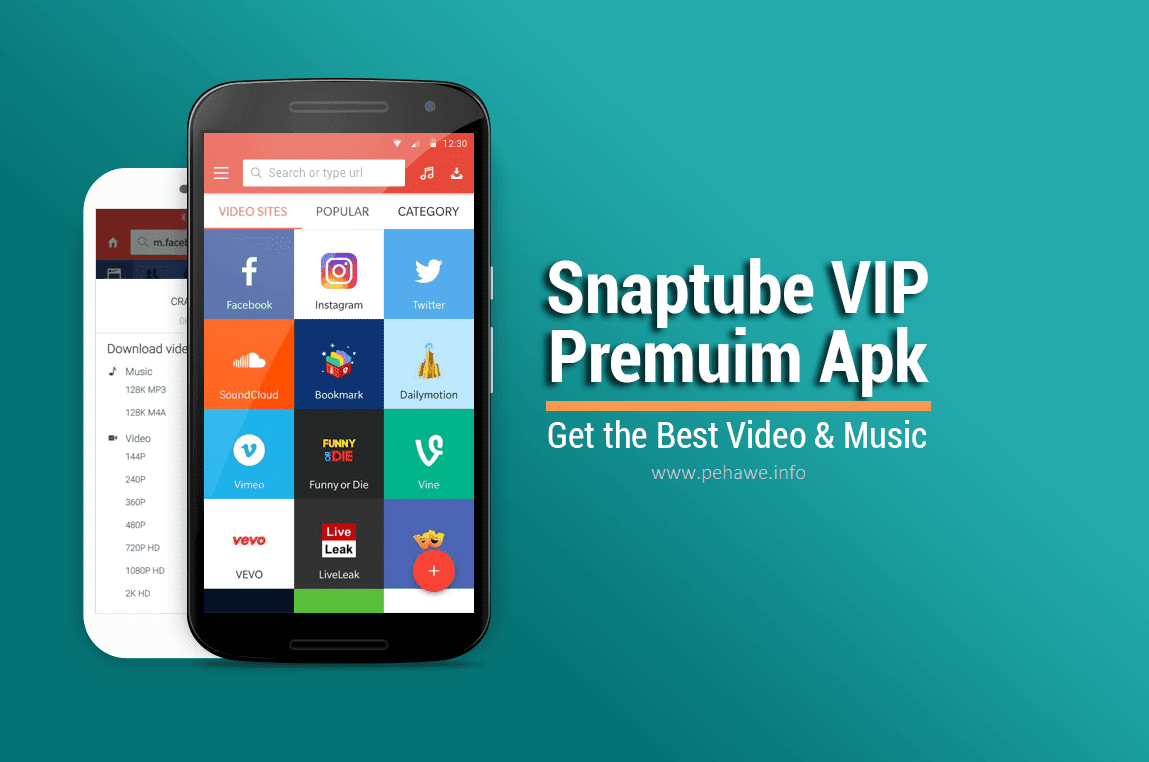 Snaptube VIP Premium - YouTube Downloader HD v4.4.36.0.10611 Apk