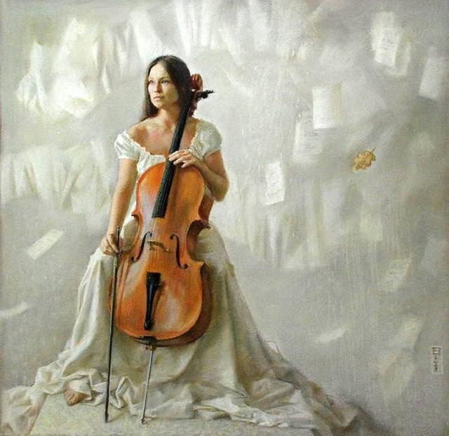 Мелодия в живописи