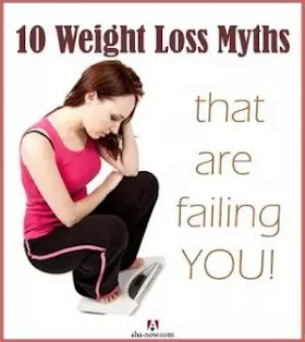 Top 10 Myths About Weight Loss