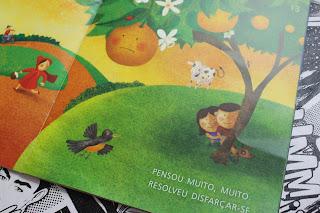 Livro A Laranja Colorida