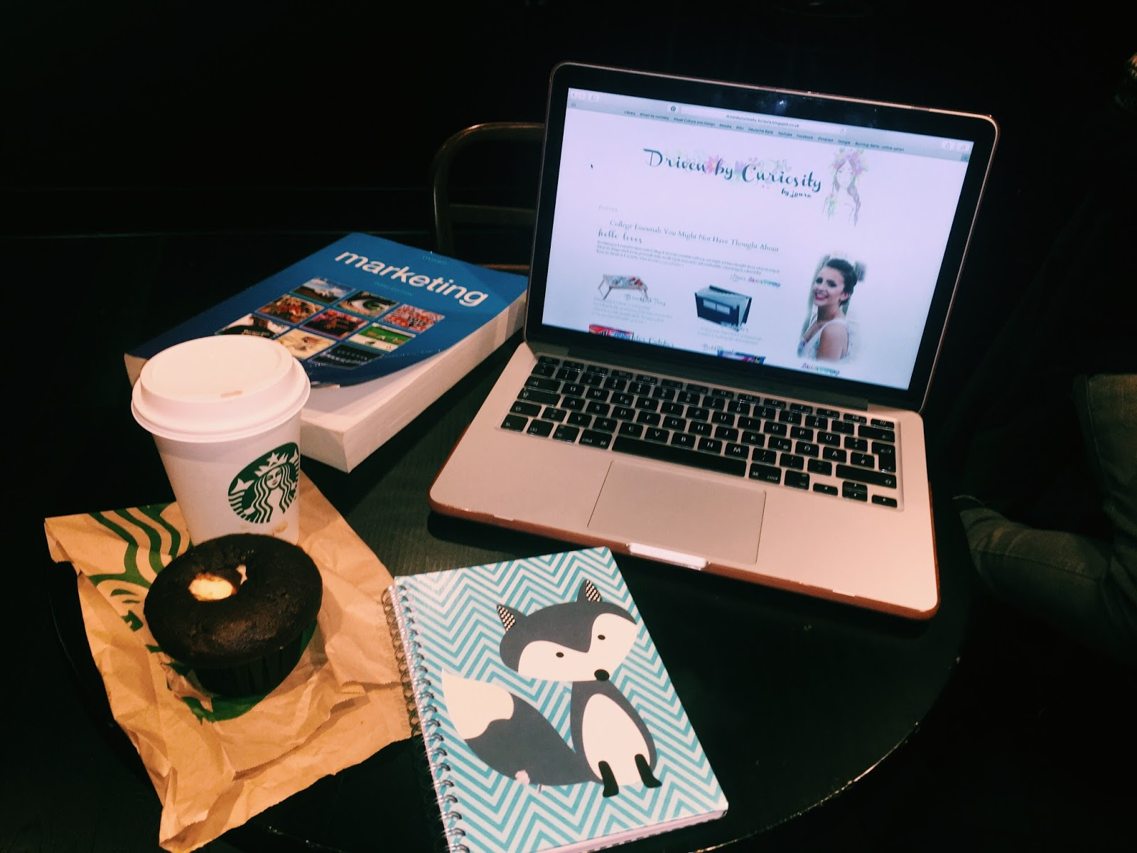 Essentials for studying at Starbucks