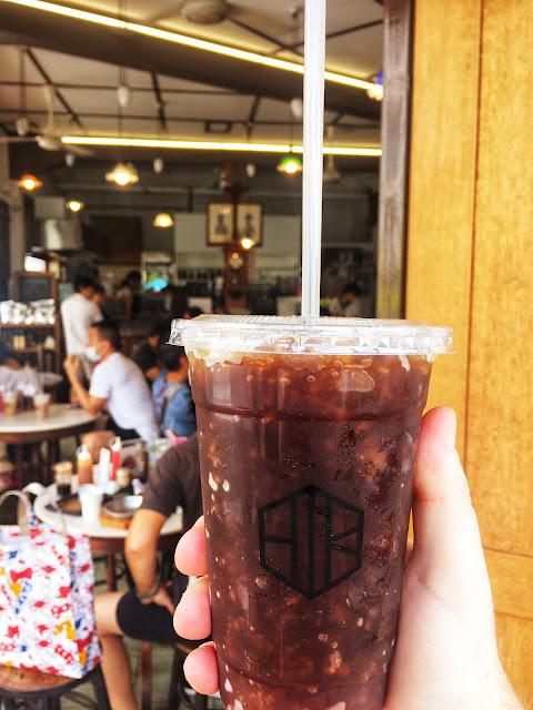 o-liang iced coffee โอเลี้ยง