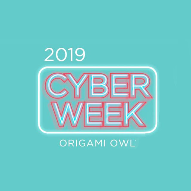 Shop Origami Owl 2019 Cyber Week Sale at StoriedCharms.com